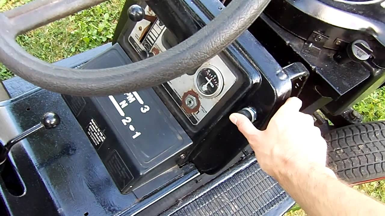 hight resolution of update on the old 19 sears craftsman 18 gt garden tractor with