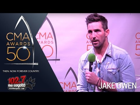 CMA Awards 50: Jake Owen Talks About His Chris Stapleton Written Song & New Whiskey Alcohol Brand