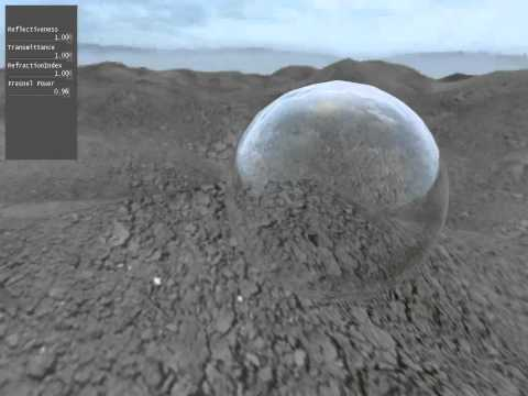 Working Fresnel (Reflection and Refraction) GLSL