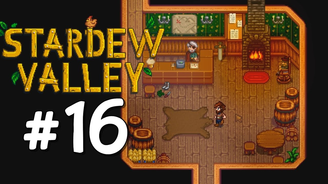 Joining the Adventurers Guild - Stardew Valley Playthrough, Part 16 - YouTube