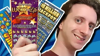 WINNING ACTUAL MONEY!! │ REAL Lottery Tickets │ ProJared Plays!