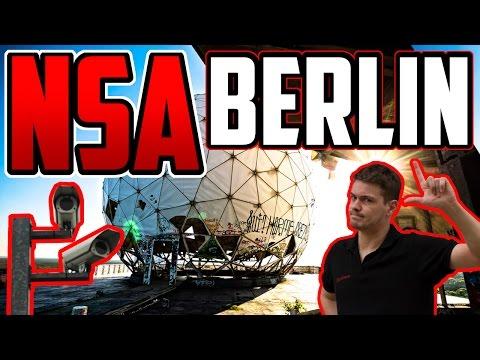 SHISHA in der NSA Fieldstation am Teufelsberg Berlin 2016 - Lost Place Berlin #2 Paulos World