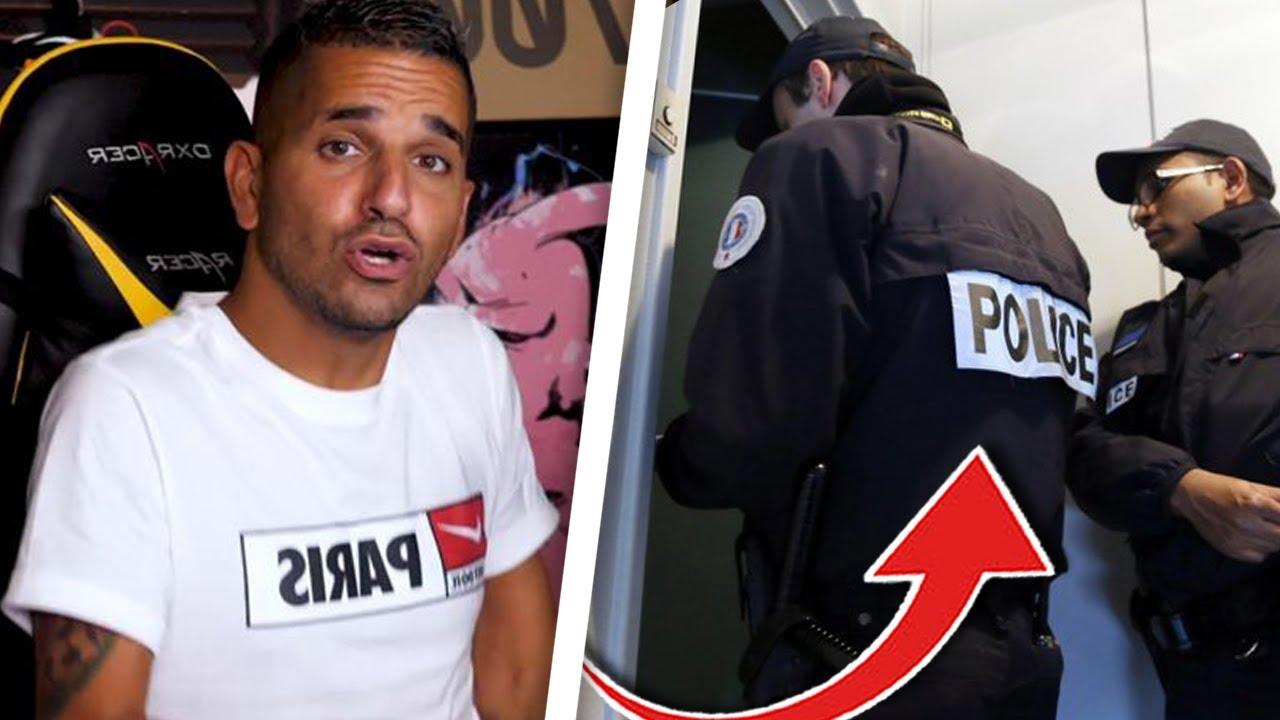 LA POLICE VIENT CHEZ MOI..😟