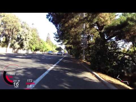Campbell to Menlo Park, CA (2014-06-27 morning)