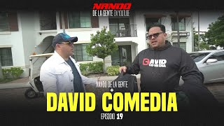 NANDO DE LA GENTE EN YOUTUBE | DAVID COMEDIA | EP 19 | WEBSHOW