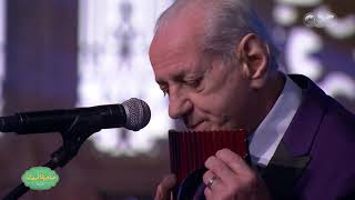 Gheorghe Zamfir  زامفير  and Cazanoi Orchestra at CBC in Cairo - You'r My Life  of Umm Kulthum