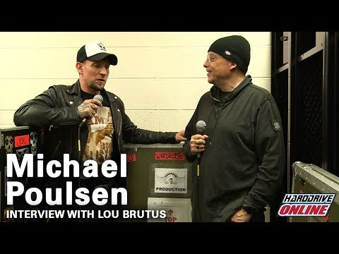 Volbeat's Michael Poulsen interview with hardDrive Radio's Lou Brutus