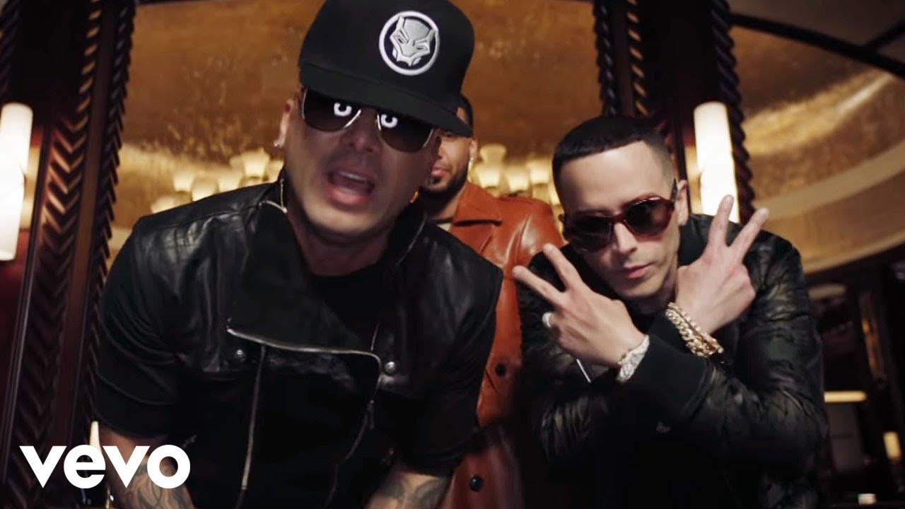 Wisin & Yandel, Romeo Santos - Aullando (Official Video) #1