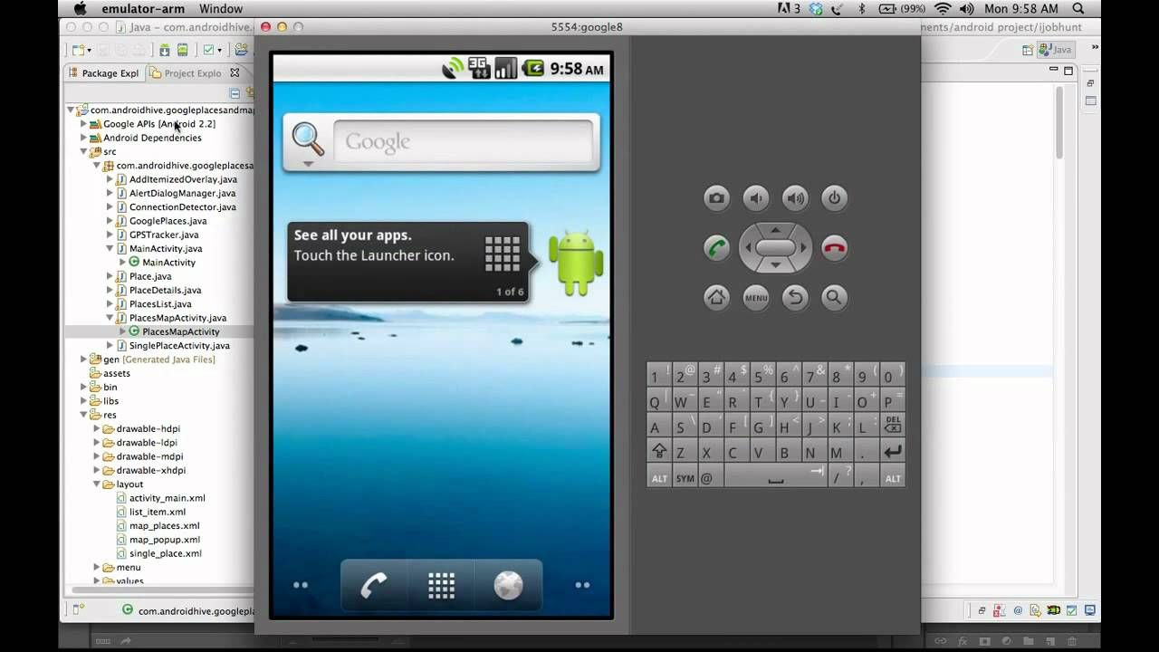 Android Working With Google Places And Maps Tutorial Mobile Arena