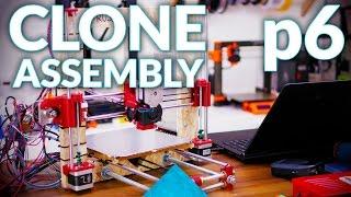 Prusa i3 MK2 3D printer clone live assembly: p6, final setup and first print!