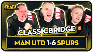 GOLDBRIDGE Best Bits Man United 1-6 Tottenham | RAGE & HIGHLIGHTS