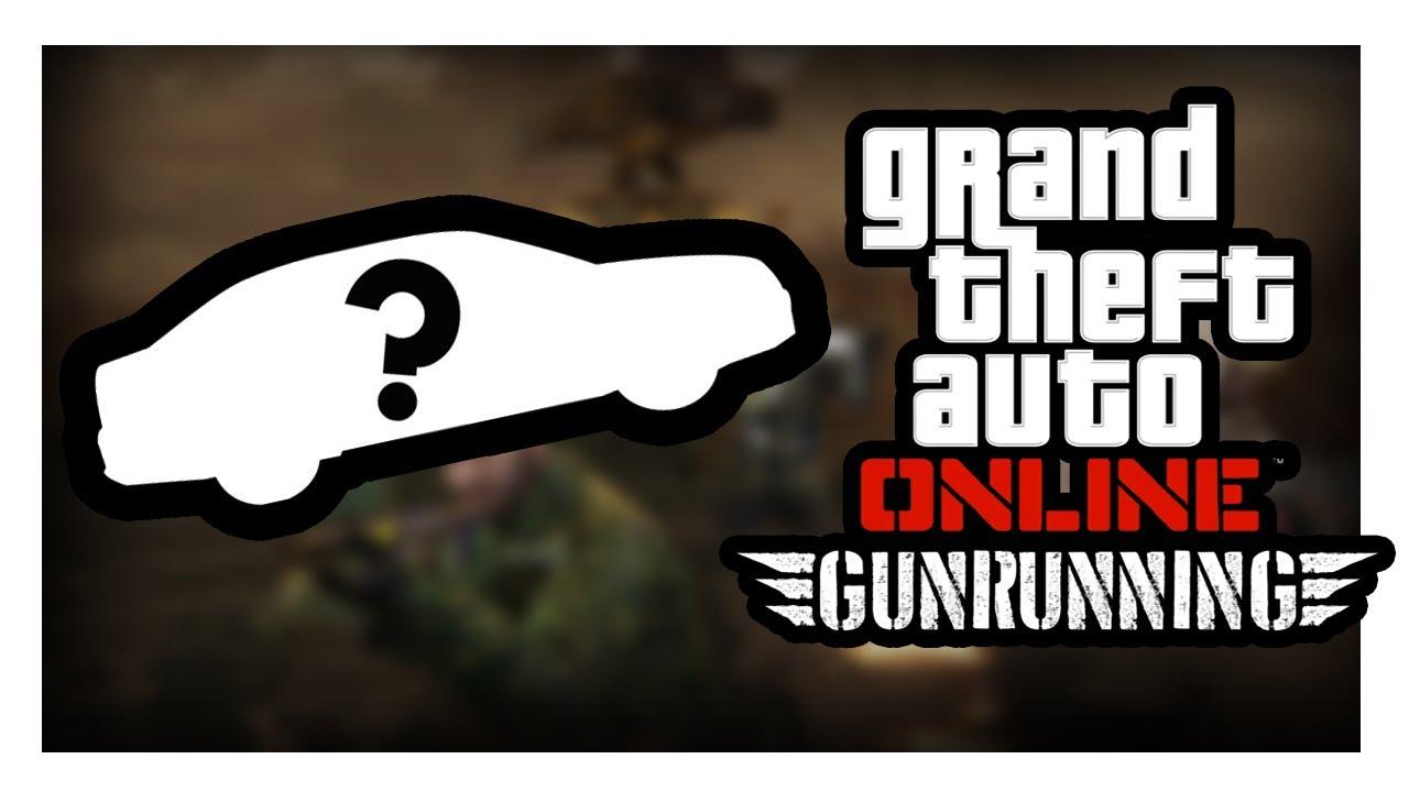 GTA V   GUNRUNNING   UKRYTE POJAZDY!