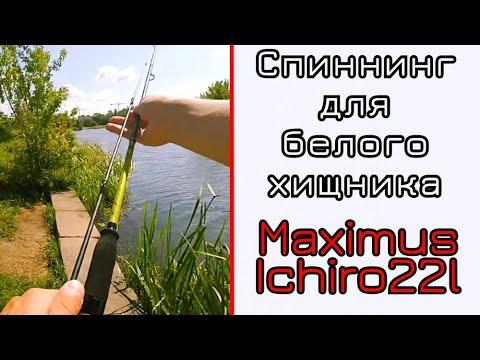 Спиннинг для блесен, голавля и лета! Maximus Ichiro 22l