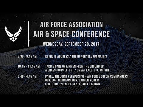 2017 Air, Space & Cyber Conference Wed Sep 20