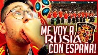 ME VOY A RUSIA CON ESPAÑA