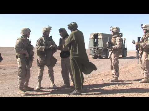 A spy in their ranks: US Marines in southern Afghanistan