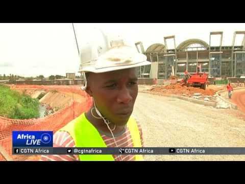 President Ali Bongo inaugurates Port Gentil stadium