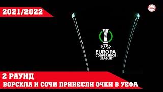 Лига Конференций УЕФА 21 22 Результаты 2 го раунда квалификации Расписание