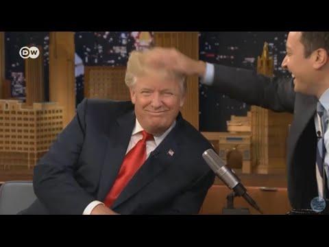 Трампу испортили знаменитую прическу