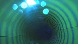 Creepy Water Slide at Aquapolis