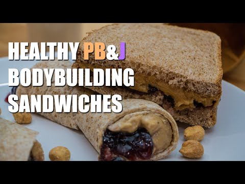Bodybuilding Peanut Butter & Jelly Sandwiches