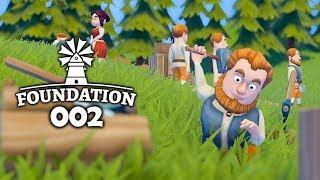 FOUNDATION 🏡 002: Hier bauen die Einwohner auch selbst!