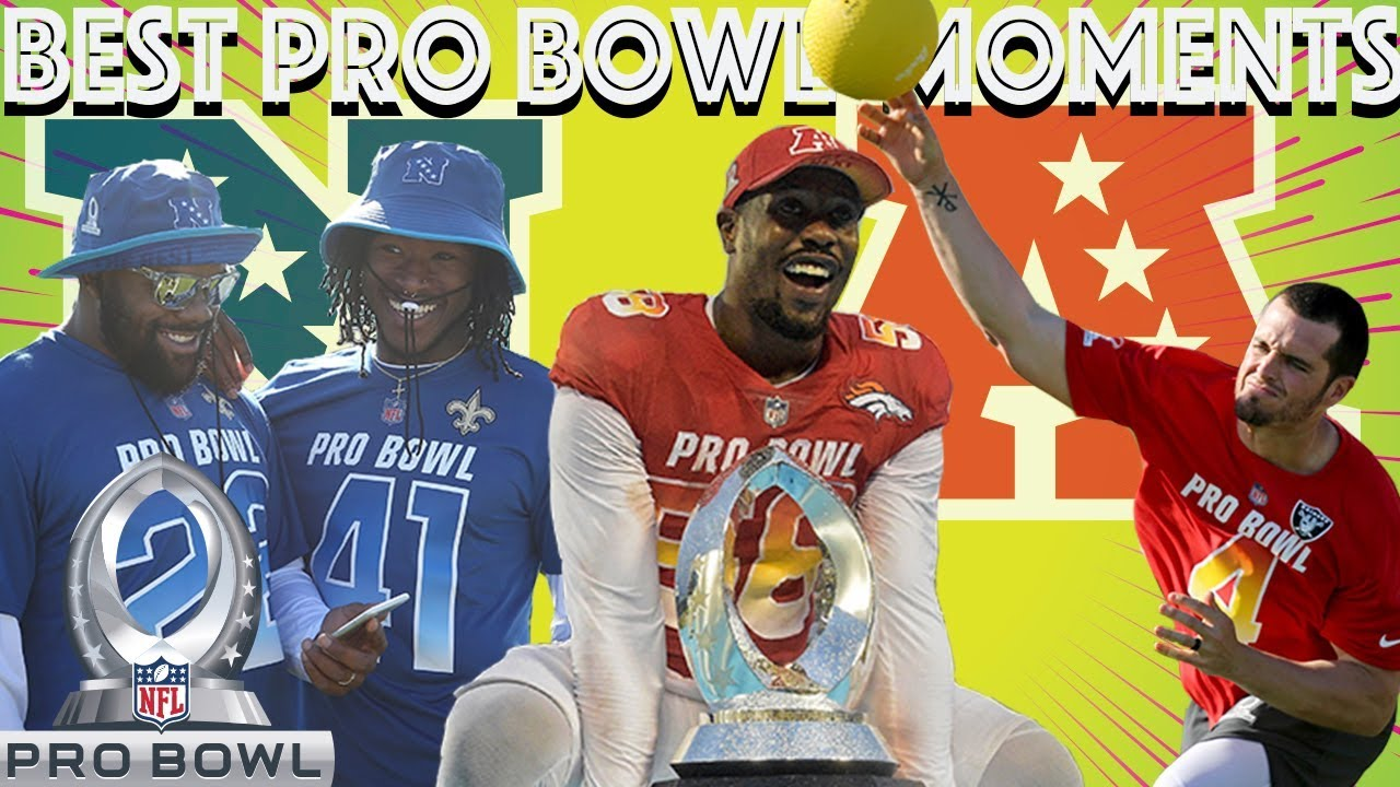 90a9e848aba 2018 Pro Bowl Weekend Best Moments!   NFL Highlights - YouTube