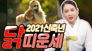 2021신축년 '닭띠'의 나이별 성격과 신년운세! (93년생 29세, 81년생 41세, 69년…