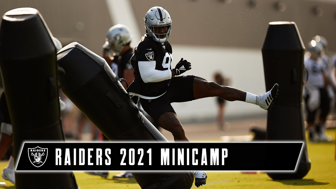 Practice With a Purpose   2021 Minicamp Day 2   Las Vegas Raiders