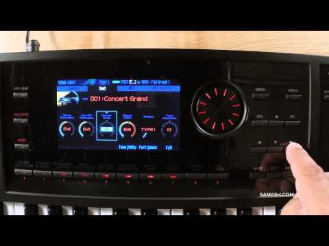 Roland FA-06 Music Workstation - Sound Engine Overview