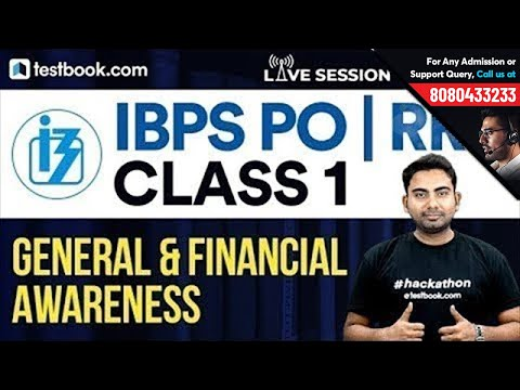 IBPS PO | RRB : General & Financial Awareness Class 1 With Abhijeet Sir
