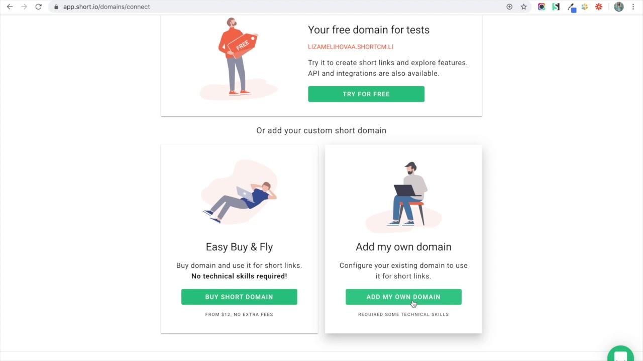 How to Configure a Google Domain for Short.io Short.cm   Short ...