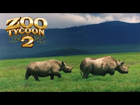 Zoo Tycoon 2: Black Rhinoceros Exhibit Speed Build