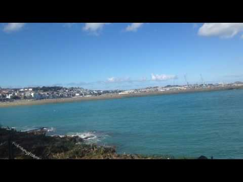Guernsey Channel Islands view bathing pools