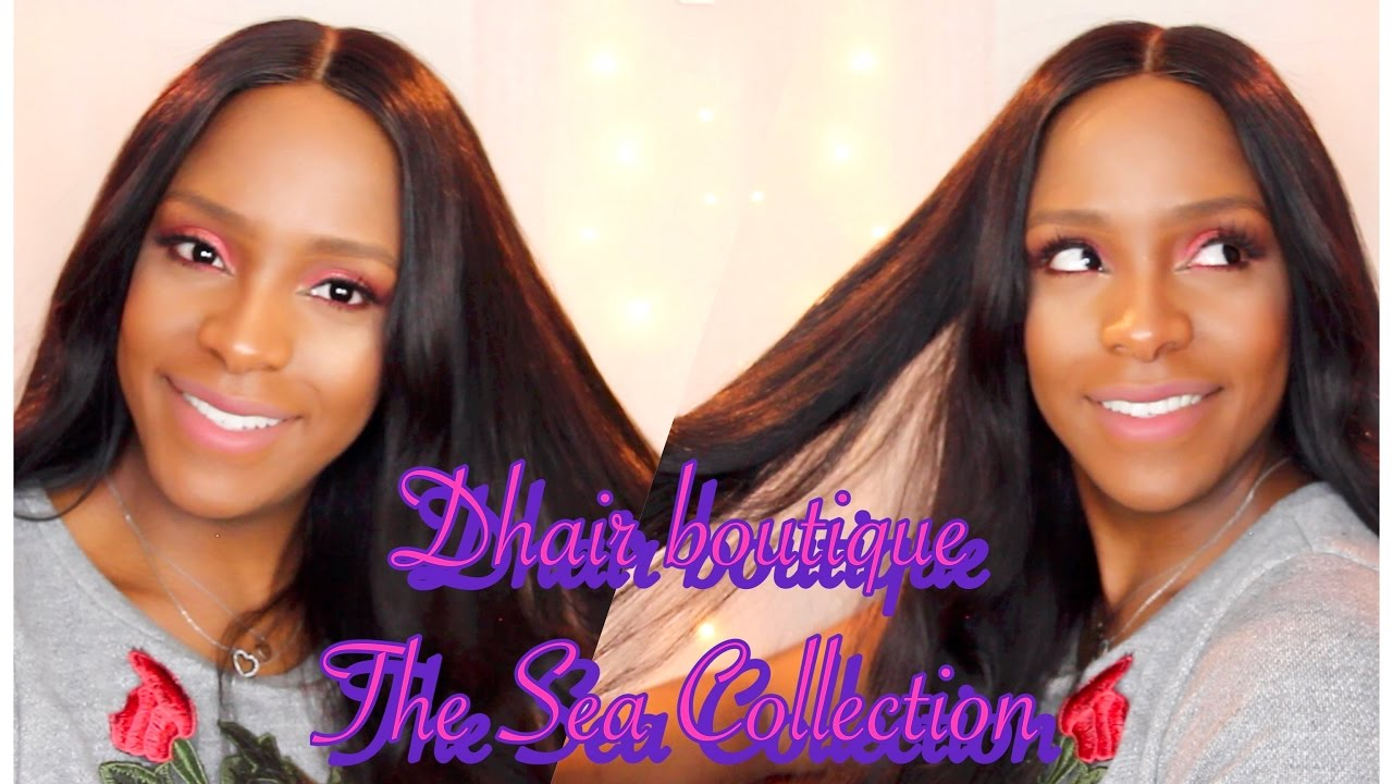 Dhair Boutique Sea Collectionangela Simmons Hair Review Youtube