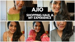 Ajio Shopping Haul - Try On and My Experience