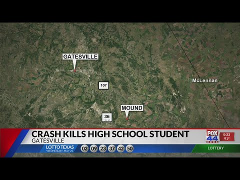 Gatesville High School in mourning after student dies in car crash