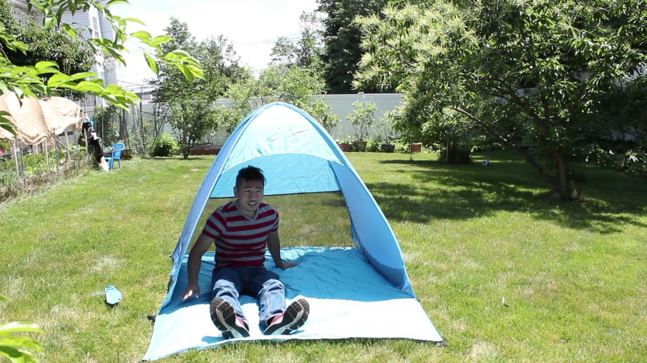 Portable Popup Beach Tent Review