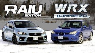 $40,000 Subaru WRX vs $5,000 WRX // 2019 Raiu Meets 2006 Hawkeye