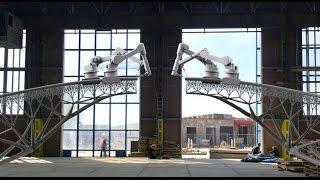 شيء تك :  MX3D Bridge أول جسر بتقنية الطباعة ثلاثية الأبعاد