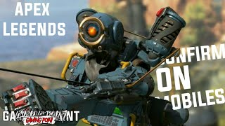 Apex legends mobile release date, pre - registration and download size.