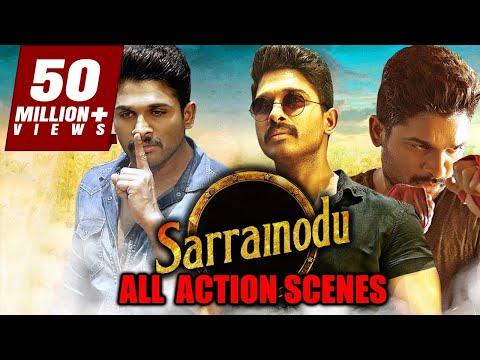 Sarrainodu All Action Scenes | South Indian Movie Best Action Scene