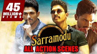 Sarrainodu All Action Scenes | South Indian Movie Best Action Scene