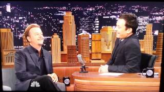 Jimmy Fallon talks too much, called out by - David Spade