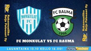 FC Monkulat vs FC Rauma 13.10.2018 Maalikooste