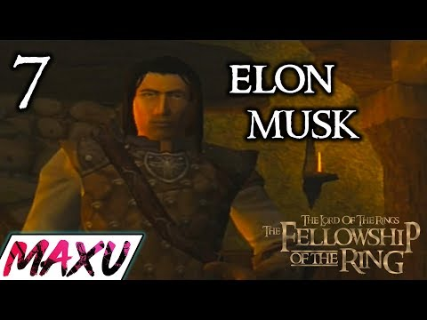 The Fellowship Of The Ring Video Game Walkthrough Part 7 - Aragorn