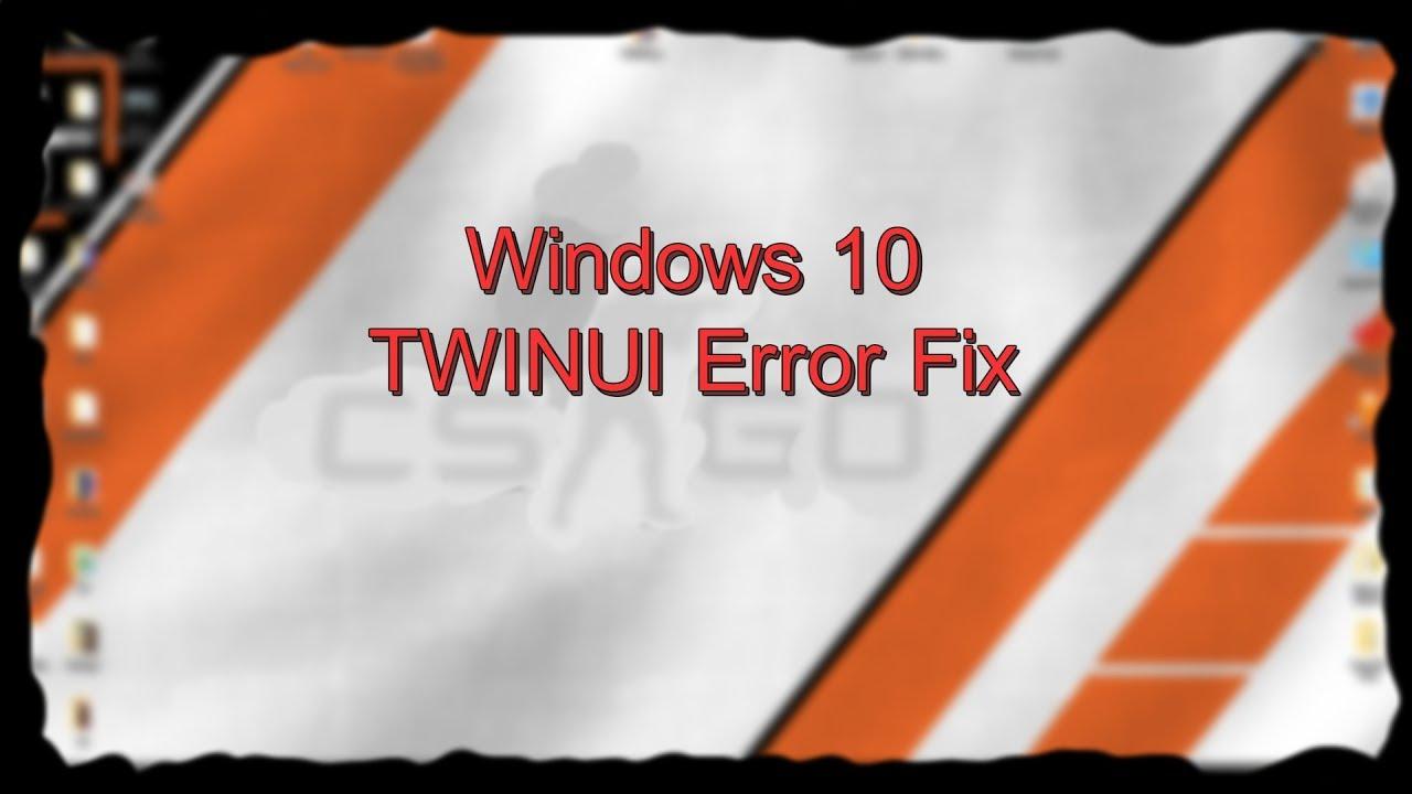 Windows10 TWINUI \