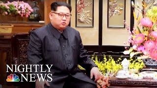 China Reveals Visit By North Korea's Kim Jong Un | NBC Nightly News