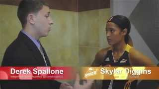 Derek Spallone One One One Interview With Tulsa Shock Star Skylar Diggins