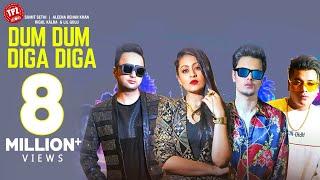 Dum Dum Diga Diga Video Song | Sumit Sethi | Aleena Rehan Khan | Lil Golu | Rigul Kalra
